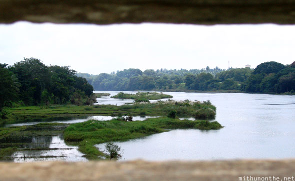 Cauvery river bridge view