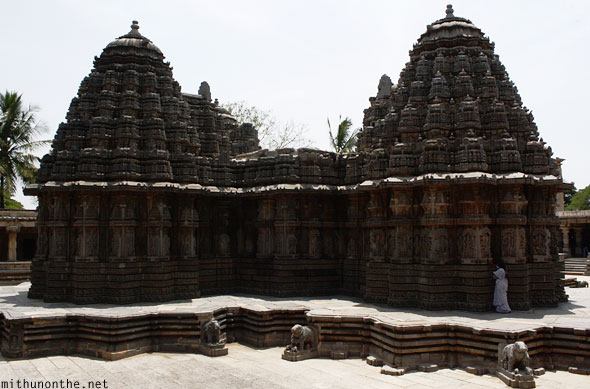 Chennakesava temple back side Somanathapura