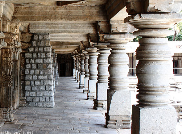 Chennakesava temple pillars Somanathpur India