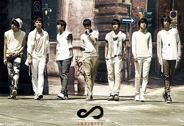 Infinite Infinitize album group shot K-pop