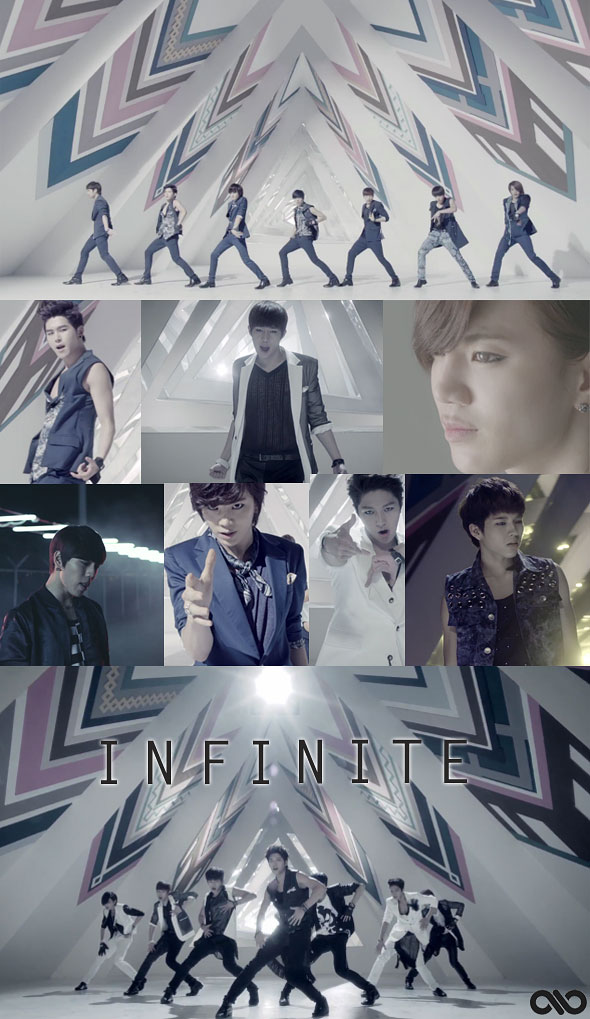 Infinite The Chaser MV Infintize members screencap