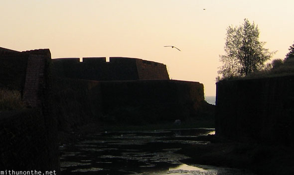 Kannur fort sunset Kerala