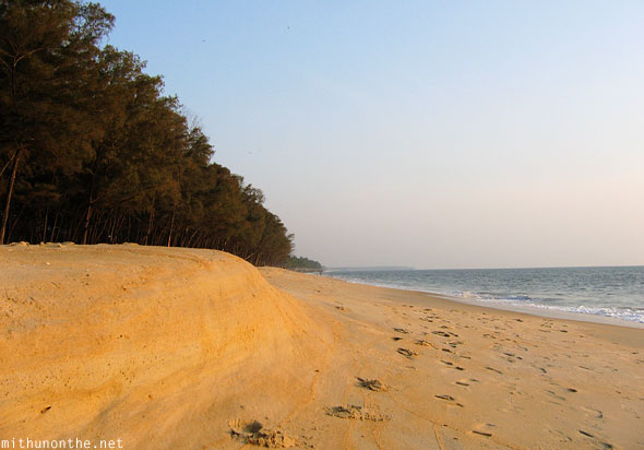 Kappad beach sand Calicut India