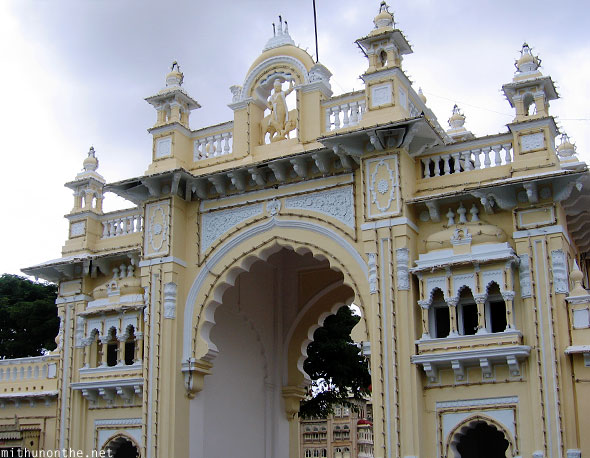 Main entrance to Mysore Palace Karnataka