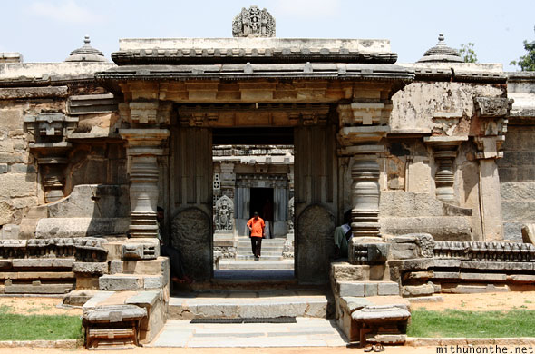 Somnathpur temple entrance door Karnataka