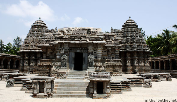 Somanathapura temple front facing Karnataka