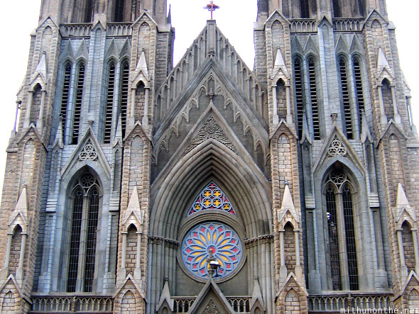 St. Philomena's church achitecture Mysore