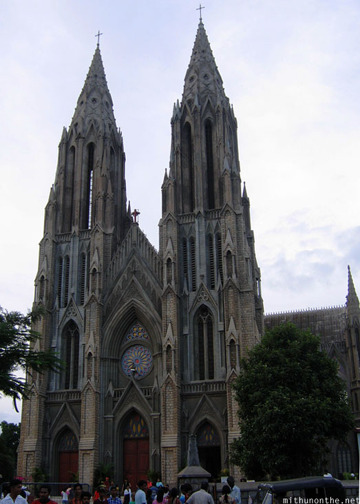 St. Philomenas church Mysore Karnataka India