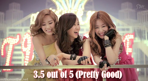 Taetiseo Twinkle MV laughing SNSD members