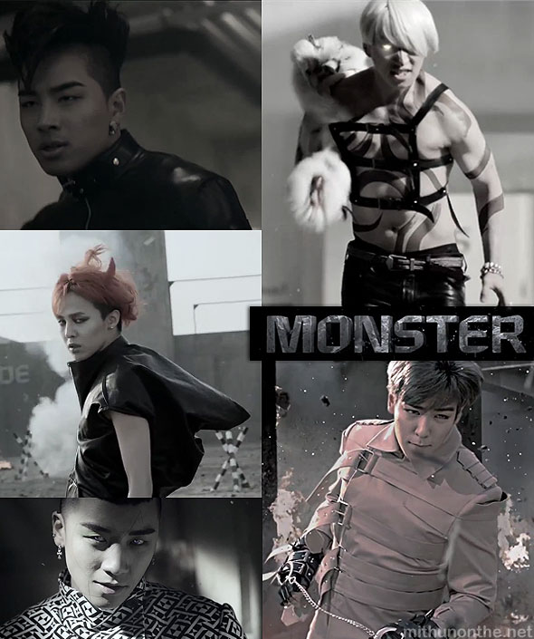Big Bang Monster mv screencap