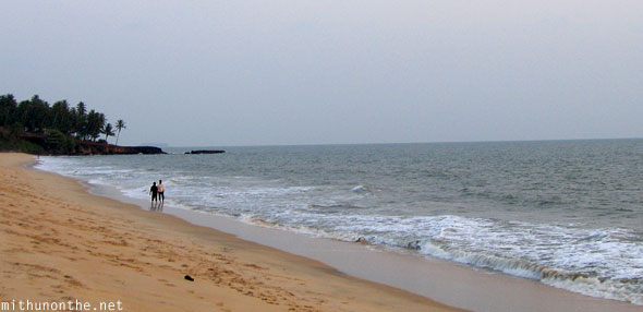 Kizhunna beach end Kannur Kerala