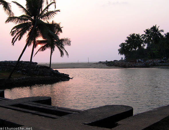 Kizhunna sunset beach Kannur Kerala