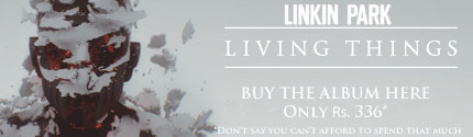 Linkin Park buy cd India banner