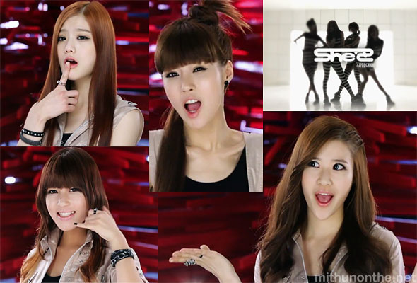 She'z My Way mv screencap kpop