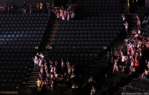Empty seats Kpop Nation Macau
