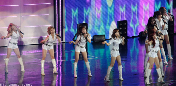 Girls Generation Gee dance Macau