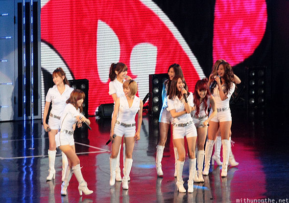Girls Generation technical problem Macau concert