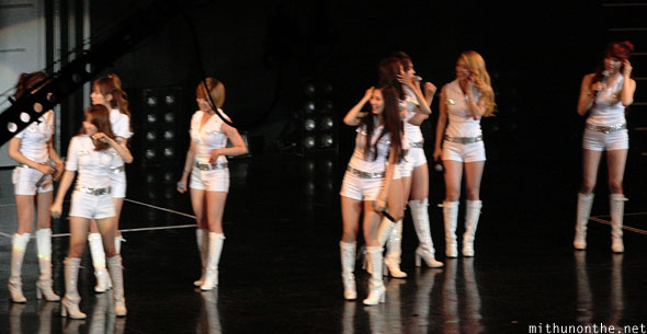 Girls Generation technical problem Macau