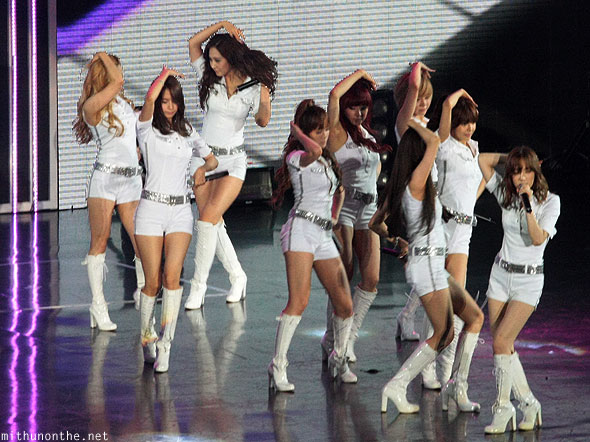 Girls Generation The Boys Macau concert