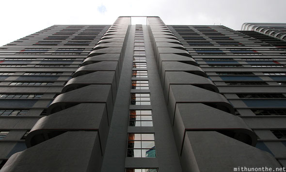 Hong Kong architecture building angle