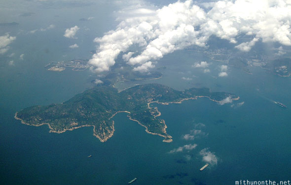 Hong Kong hilly islands