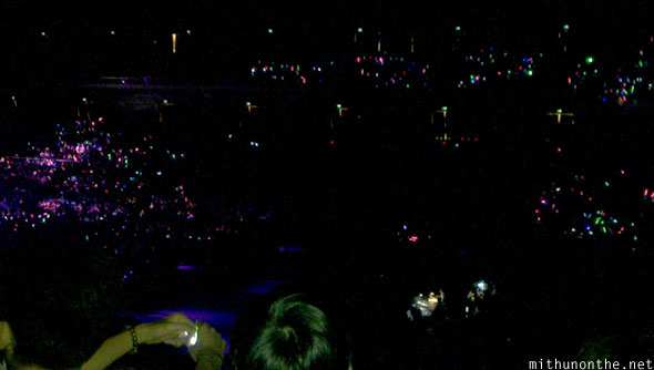 Kpop Nation Cotai Arena glowsticks
