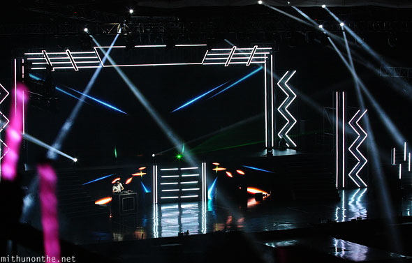 Kpop Nation Macau concert stage