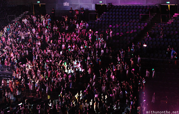 Kpop Nation Macau crowd Cotai Arena