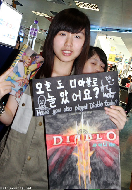 Macau Shawol Diablo sign for Shinee