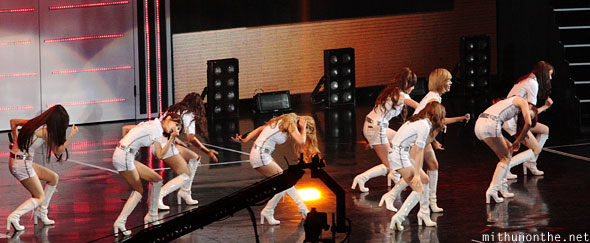 Run Devil Run dance SNSD
