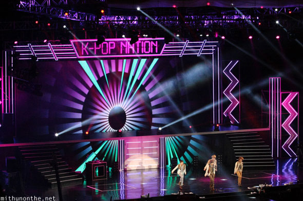 Shinee kpop nation concert