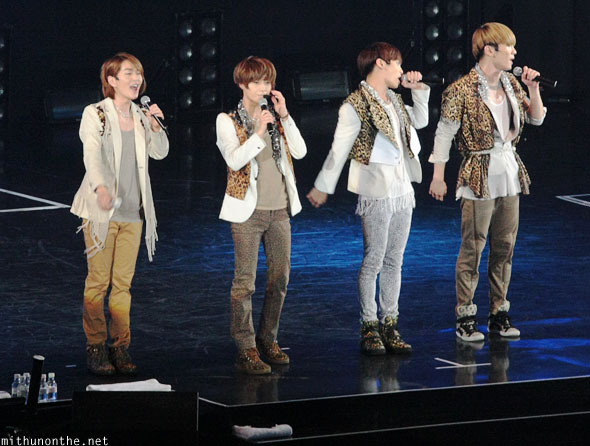 Shinee on-stage Macau China