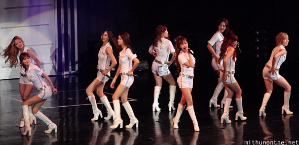 Snsd Gee performance Macau