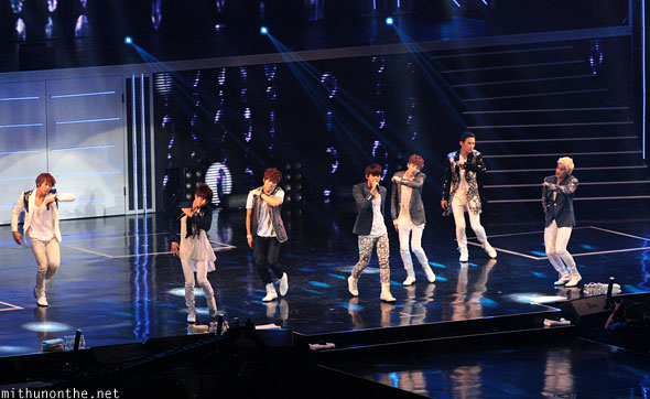 U-Kiss concert Macau China