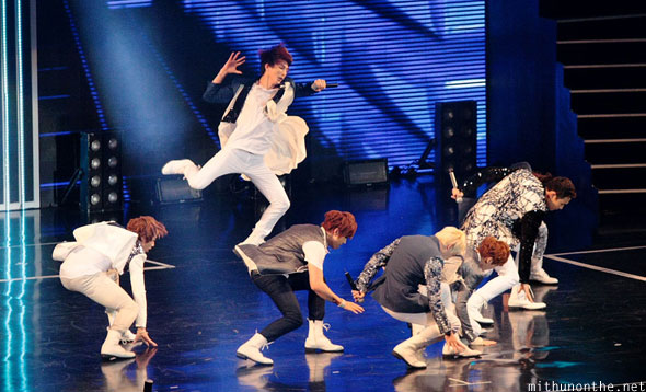 U-Kiss Kpop Nation stage performance Macau