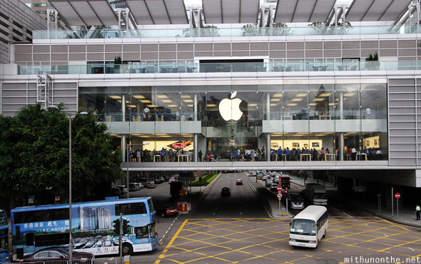 Apple store IFC mall Hong Kong