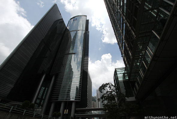 Citibank building Hong Kong