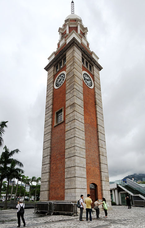Clock tower panorama Hong Kong