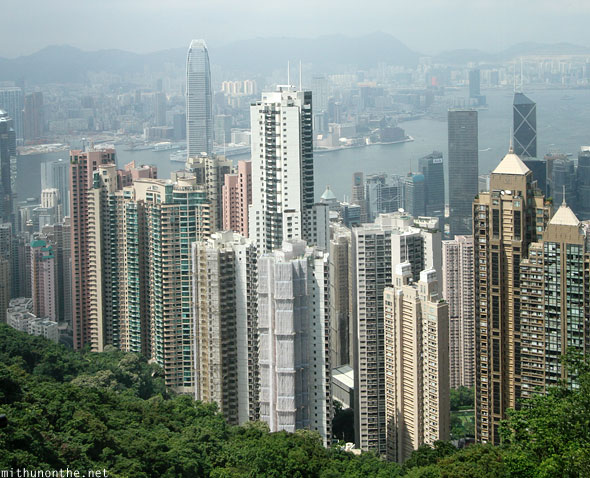 High rise buildings Hong Kong