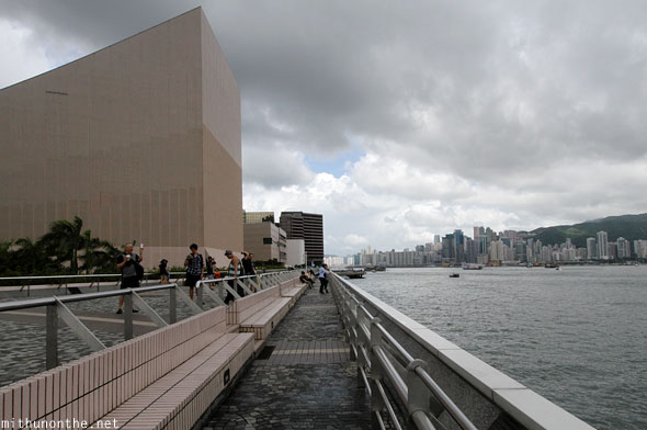Hong Kong Cultural centre building harbour