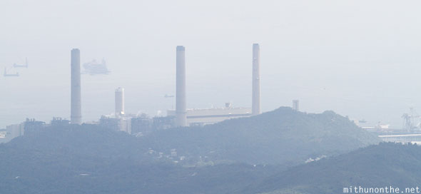 Hong Kong island power station