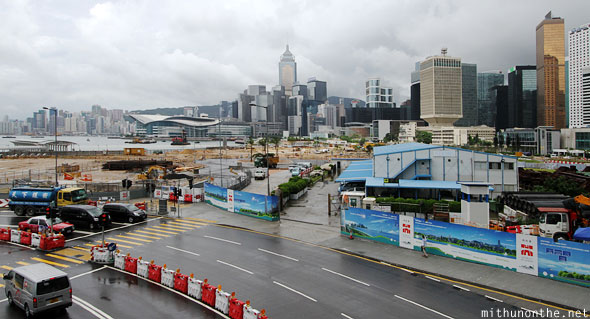 Hong Kong roads expansion