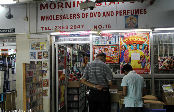 Indian dvds perfume store Hong Kong