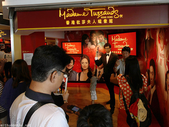 Madame Tussauds peak Hong Kong