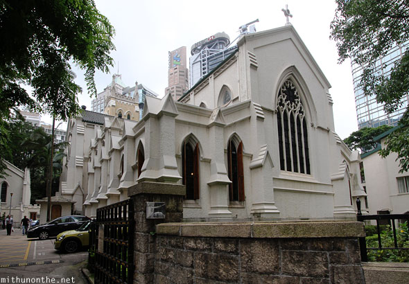 St. Johns cathedral Hong Kong