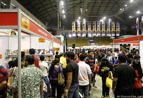 Bangalore Comic Con Koramangala indoor stadium