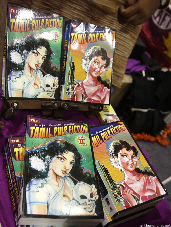 Blaft tamil pulp fiction Comic Con Bengaluru