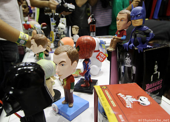 Bobble heads Comic Con Bengaluru