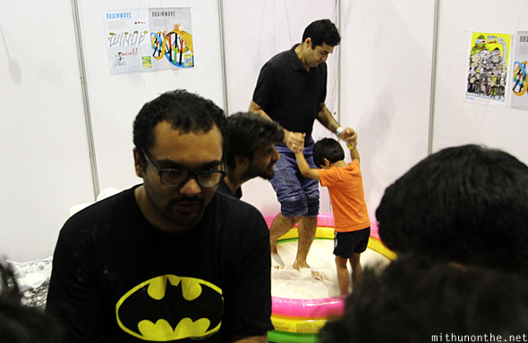Brainwave booth Comic-Con Bangalore
