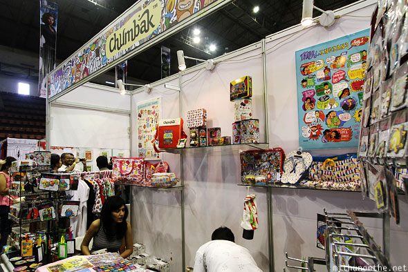 Chumbak booth Comic Con Bangalore
